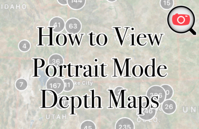 "How to See the ""Depth Maps"" in Portrait Photos"